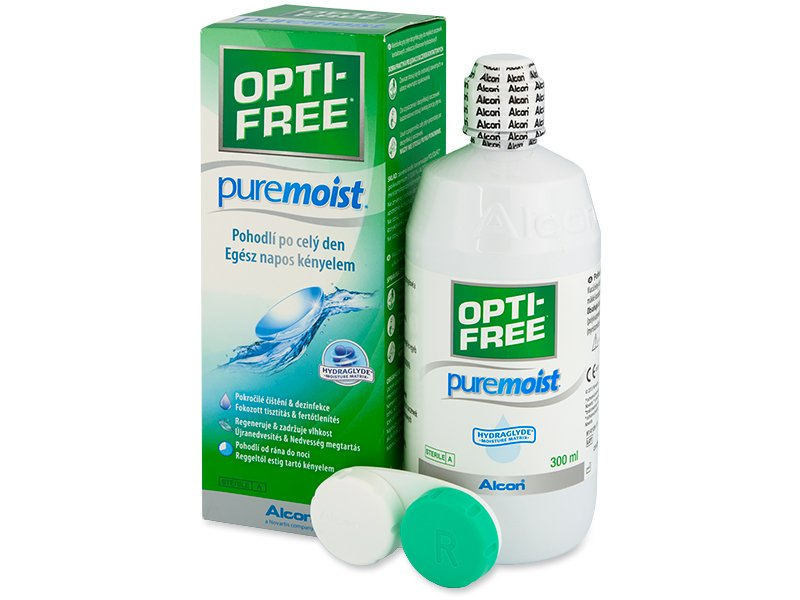Líquido OPTI-FREE PureMoist 300ml