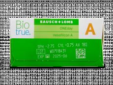 Biotrue ONEday for Astigmatism (30 lentillas)