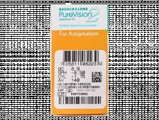 PureVision 2 for Astigmatism (6Lentillas)