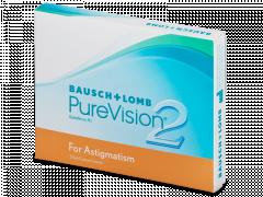 PureVision 2 for Astigmatism (3Lentillas)