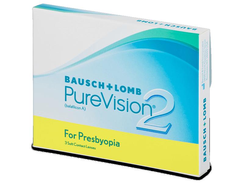 PureVision 2 for Presbyopia (3Lentillas)