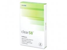 Clear 58 (6Lentillas)