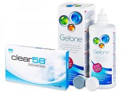 Clear 58 (6lentillas) +LíquidoGelone360ml