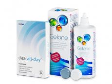 Clear All-Day (6lentillas) +LíquidoGelone360ml