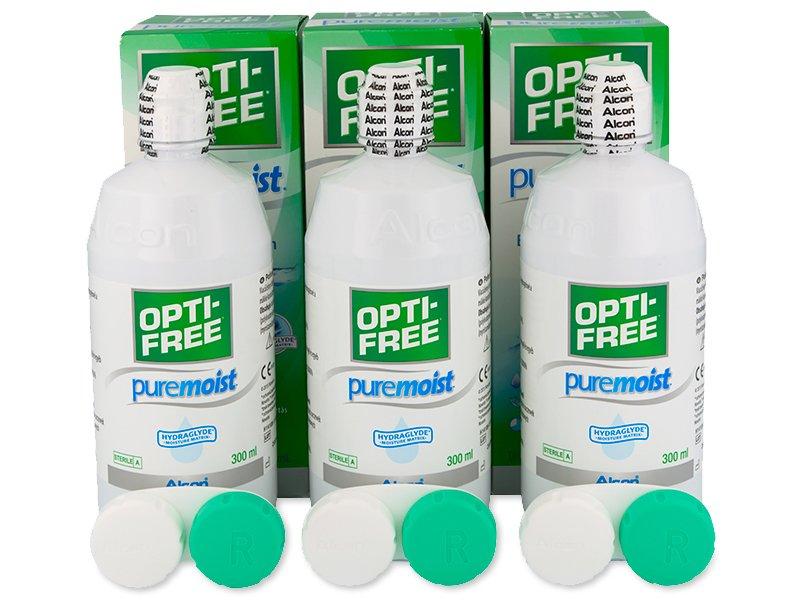 Líquido OPTI-FREE PureMoist 3x300ml