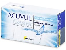 Acuvue Oasys for Astigmatism (12 lentes)