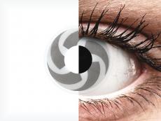 Gris Blade lentillas ColourVUE Crazy Lens (2 lentillas)