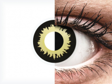 Negro Amarillo Eclipse lentillas ColourVUE Crazy Lens (2 lentillas)