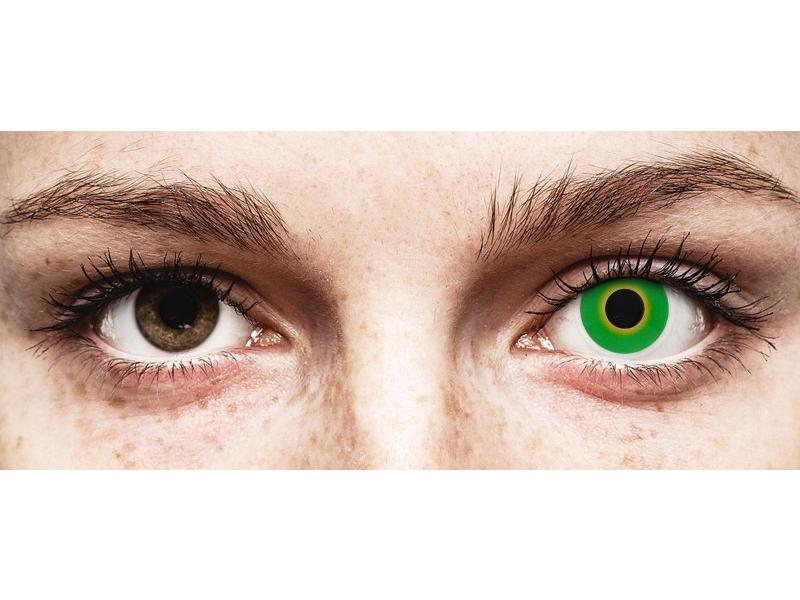 Verde Hulk Green lentillas ColourVUE Crazy Lens (2 lentillas)