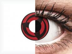 Rojo Kakashi lentillas ColourVUE Crazy Lens (2 lentillas)