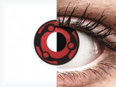 Rojo Madara lentillas ColourVUE Crazy Lens (2 lentillas)