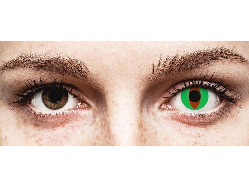 Verde  Raptor lentillas ColourVUE Crazy Lens (2 lentillas)