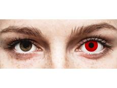 Rojo Red Devil lentillas ColourVUE Crazy Lens (2 lentillas)