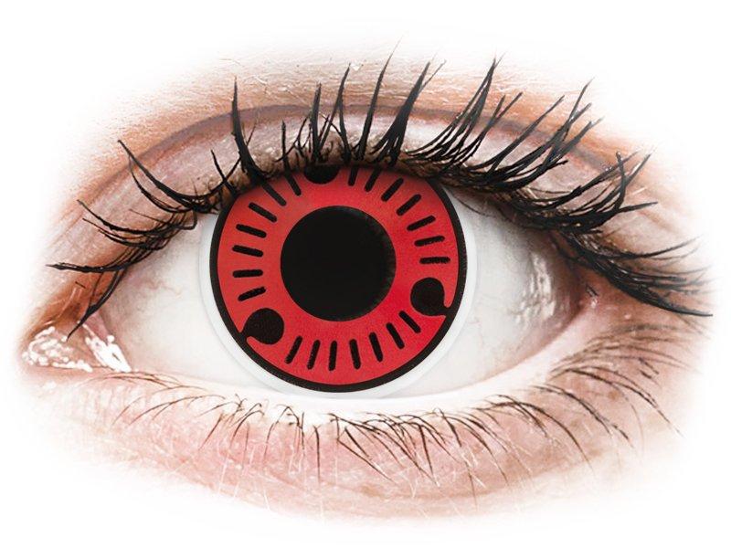 Rojo Sasuke lentillas ColourVUE Crazy Lens (2 lentillas)