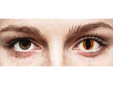 Naranja Saurons Eye lentillas ColourVUE Crazy Lens (2 lentillas)