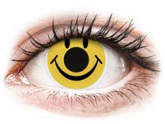 Amarillo Smiley lentillas ColourVUE Crazy Lens (2 lentillas)
