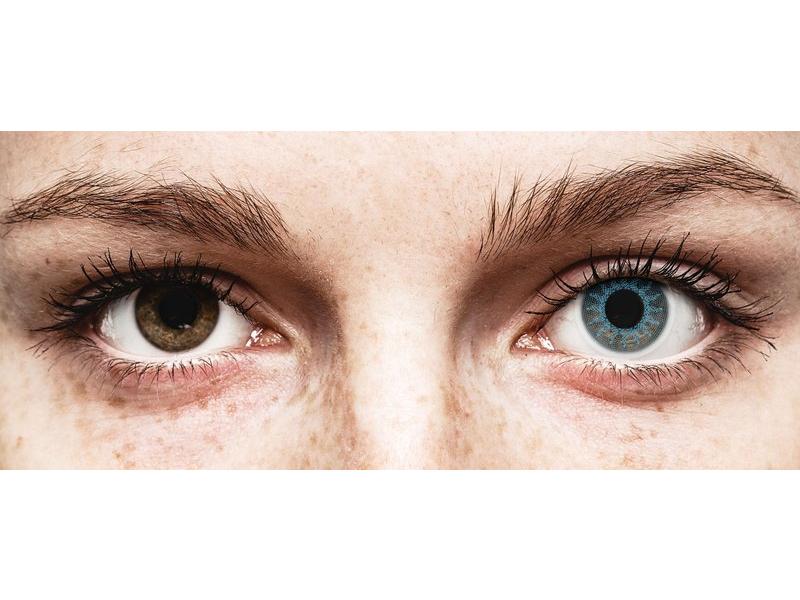 Azul Solar Blue lentillas ColourVUE Crazy Lens (2 lentillas)