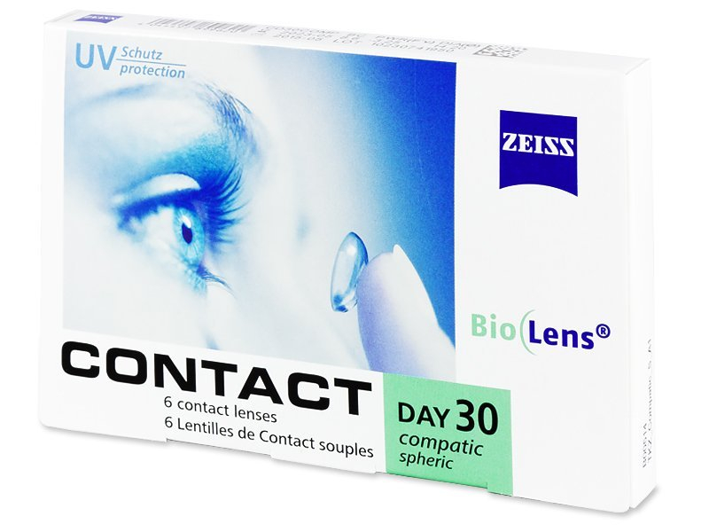 Carl Zeiss Contact Day 30 Compatic (6Lentillas)