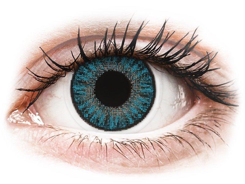 Azul Blue lentillas TopVue Color daily Graduadas (10lentillas)