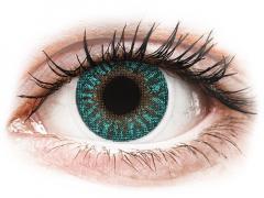 TopVue Color - Turquesa Turquoise - Con graduación (2 lentillas)