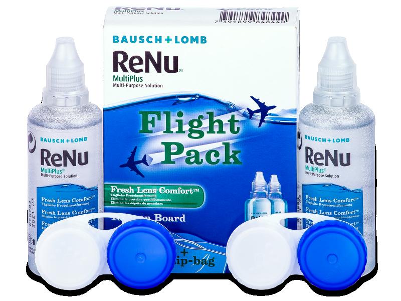 Líquido ReNu Multiplus flight pack 2 x 60 ml
