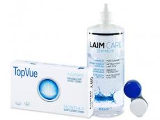 TopVue Monthly (6Lentillas) + Laim Care 400 ml