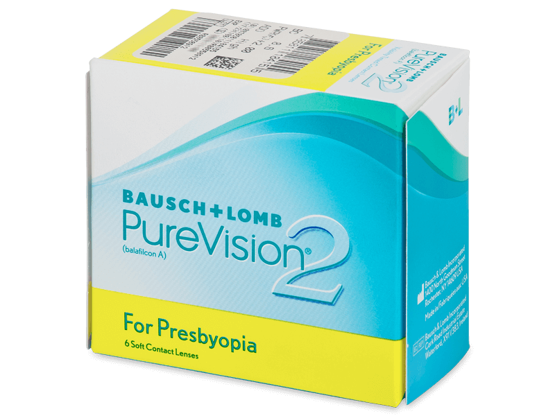 Purevision 2 for Presbyopia (6Lentillas)