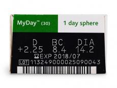 MyDay daily disposable (30lentillas)