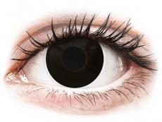 ColourVUE Crazy Lens - Blackout - Diarias sin graduación (2 Lentillas)