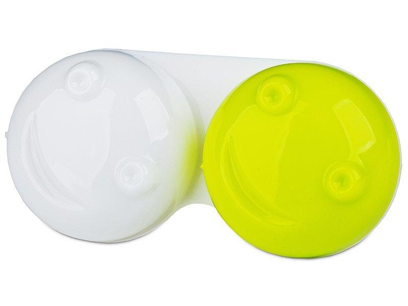 Estuche de lentillas 3D - verde