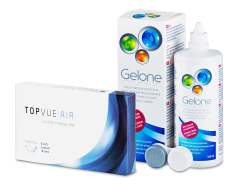 TopVue Air (6 Lentillas) + Gelone 360 ml