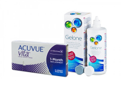 Acuvue Vita (6 lentillas) + Líquido Gelone 360 ml