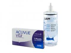 Acuvue Vita (6 lentillas) + Líquido Laim-Care 400 ml