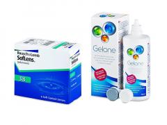 SofLens 38 (6 lentillas) + Líquido Gelone 360 ml