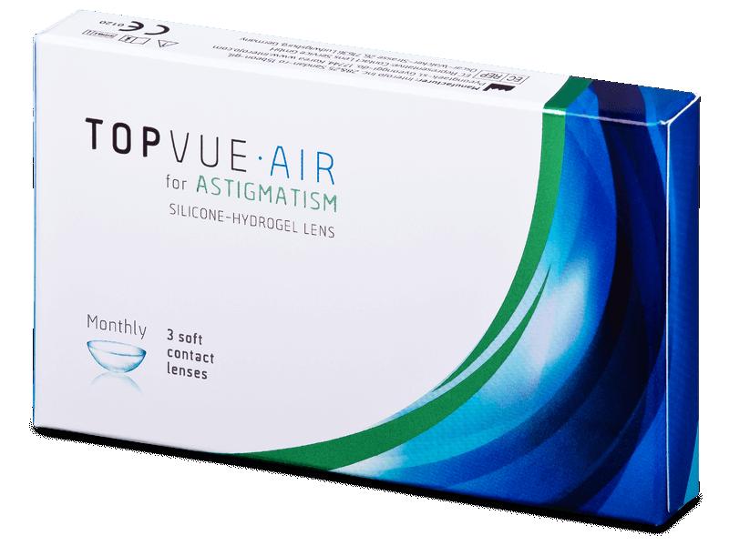 TopVue Air for Astigmatism (3lentillas)