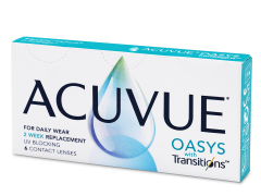 Acuvue Oasys with Transitions (6 lentillas)