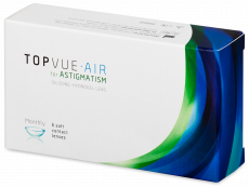 TopVue Air for Astigmatism (6 lentillas)