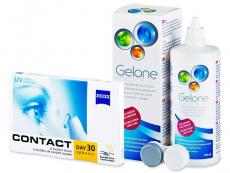 Carl Zeiss Contact Day 30 Spheric (6lentillas) +Gelone 360ml