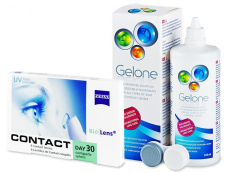 Carl Zeiss Contact Day 30 Compatic (6 lentillas) +Gelone 360 ml