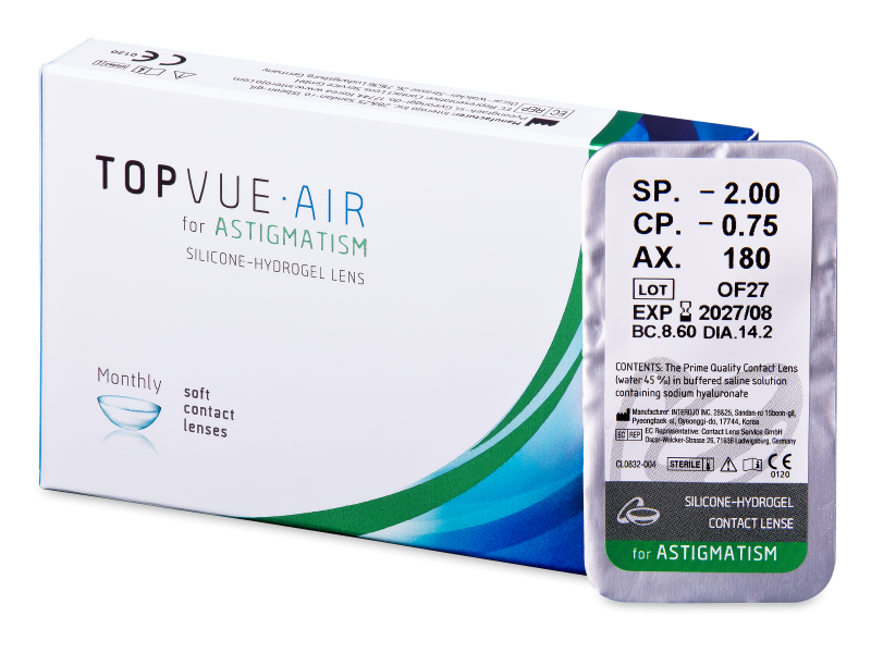 TopVue Air for Astigmatism (1lentilla)