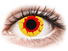 ColourVUE Crazy Lens - Reignfire - Diarias sin graduación (2Lentillas)
