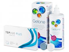 TopVue Plus (6 Lentillas) + Gelone 360 ml