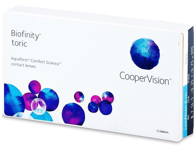 Biofinity Toric (3Lentillas)