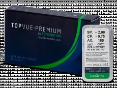 TopVue Premium for Astigmatism (1Lente)