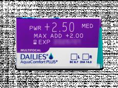 Dailies AquaComfort Plus Multifocal (90lentillas)