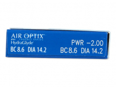Air Optix plus HydraGlyde (3 lentillas)