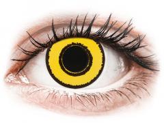 CRAZY LENS - Yellow Twilight - Diarias Graduadas (2 Lentillas)