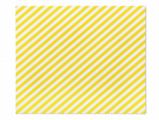 Paño de limpieza para gafas - con rayas amarillas y blancas