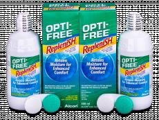 Líquido OPTI-FREE RepleniSH 2x300ml