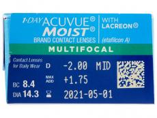 1 Day Acuvue Moist Multifocal (30 lentillas)